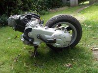 Piaggio zip 50cc 4 stroke engine