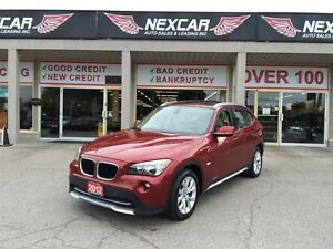 2012 BMW X1 AUT0 AWD LEATHER PANORAMIC ROOF 81K