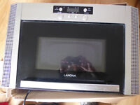 Lamona built in microwave oven about three years old clean good working order