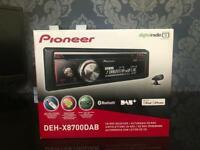 NEW Pioneer DEH-X8700DAB Car Stereo with DAB+ Tuner