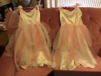John Lewis children's snow rose costume dresses