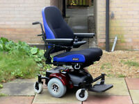 Quickie Hula JAY Comfort Seating. Electric Power Wheelchair. FREE Delivery. Fantastic condition.