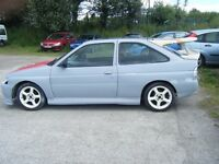 2 PROJECTS ESCORT RS COSWORTH REPLICA AND FIESTA RS TURBO CAN DELIVER LOCALLY NO OFFERS