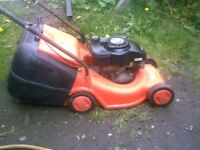 FLYMO SELF PROPPELED LAWNMOWER