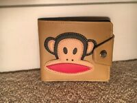 PAUL FRANK and Julius Core Wallet (tan) 521500 (with tags)