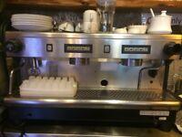 Group 2 espresso machine made by RANCILIO