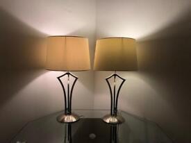 Beautiful table lamps x 2