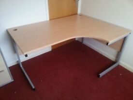 Right Handed Ergonomic/Corner Office Desk (would consider offers)