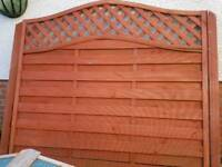 6ft x 6ft trellis fence panel