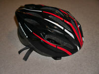 Black adult BIKE HELMET (mens, medium size, 54-60 cm) - Muddyfox