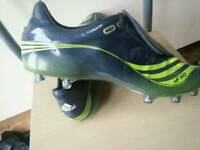 Adidas football boots +F50 Tunit. Mens size 12
