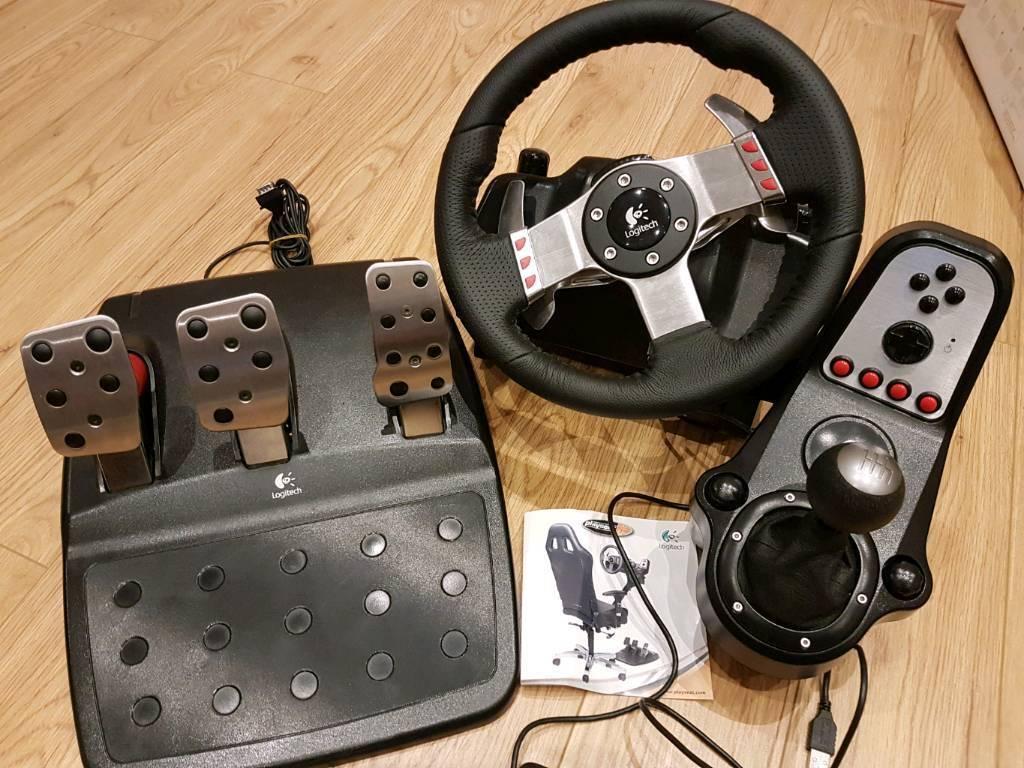 logitech g27 racing wheel in derby derbyshire gumtree. Black Bedroom Furniture Sets. Home Design Ideas