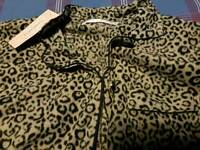 Ladies leopard print onesie brand new with tags size 18