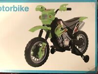 Ride on Electric Moterbike Ages 5+