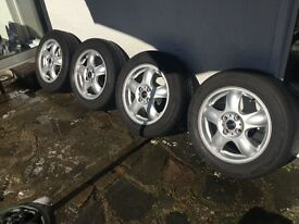 Mini one alloys for sale - £170 - QUICK SALE