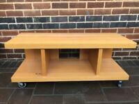 Oak tv cabinet for sale