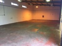 £1004 TO LET COMMERCIAL WORKSHOP / RETAIL SPACE / INDUSTRIAL UNIT - PINXTON, NOTTINGHAM, NG16 6NS