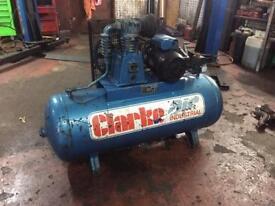 Clarke air compressor 200 litre