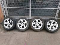 """16""""Inch Vauxhall Alloy wheels With Tyres"""