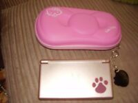 NINTENDO DS LITE RARE NINTENDOGS ONE MINT