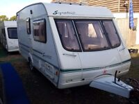 2001 Swift Signature 15/2 2 Berth End Washroom Caravan