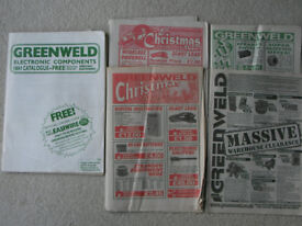 Classic Greenweld electronic component and surplus catalogues