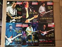 17 issues of Eric Clapton 'Where's Eric' magazine