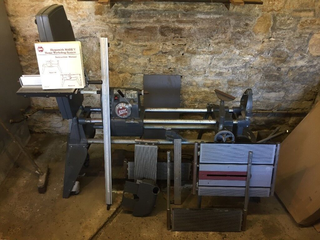 Used Shopsmith Mark V 510 All In One Woodworking Machine Tablesaw