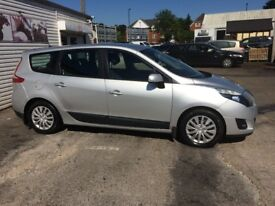 Renault Grand Scenic 1.5 dCi Expression 5dr, LOW MILAGE, Full Srvc History, Fantastic Family Car