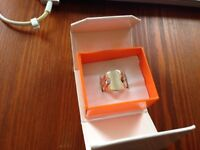 Pure Silver ring, size S/M
