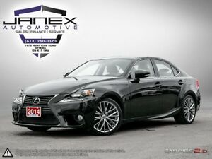 2014 Lexus IS 250 ACCIDENT FREE | LEATHER | NAVI | HEATED MEM...