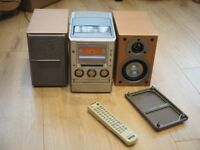 Sony all-in-one micro HiFi stereo system CD / Radio with remote - CMT-M100MD