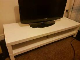 White TV unit