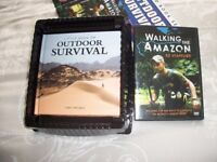 walking the Amazon dvd and survival book