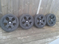 """AUDI A3 17"""" ALLOYS WITH TYRES X 4"""