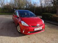 Toyota Prius+ T4 (red) 2013