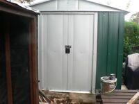 Yard Master Metal Garden Shed