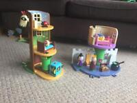 Ben and Holly's castle and tree house