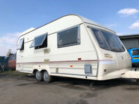 New reduced price!!!!! Touring caravan Twin Axle with Brand New Awning Full Range of Accessories