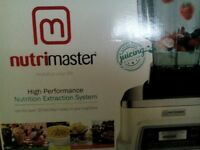 selling never used nutrimaster for 80.00