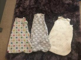 4 grobags for sale 0-6m and 6-12m