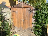 6'x3' garden shed