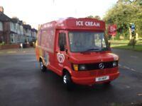 merceders 208d full cowl cummins ice cream van