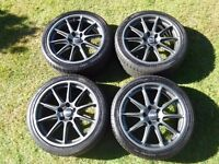 "18"" OZ Prodrive Wheels."