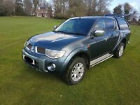 "2010 Mitsubishi L200 2.5 DI-D limited edition ""Raging Bull"" Crew cab with Canopy"