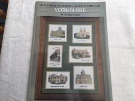 Cross stitch chart, of Yorkshire,