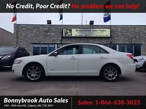 2008 Lincoln MKZ Base comes w/bluetooth leather heated seats