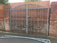 Galvanised Gates 4 Months Old- DELIVERY AVAILABLE