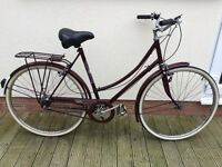 Ladies Raleigh cameo bike.