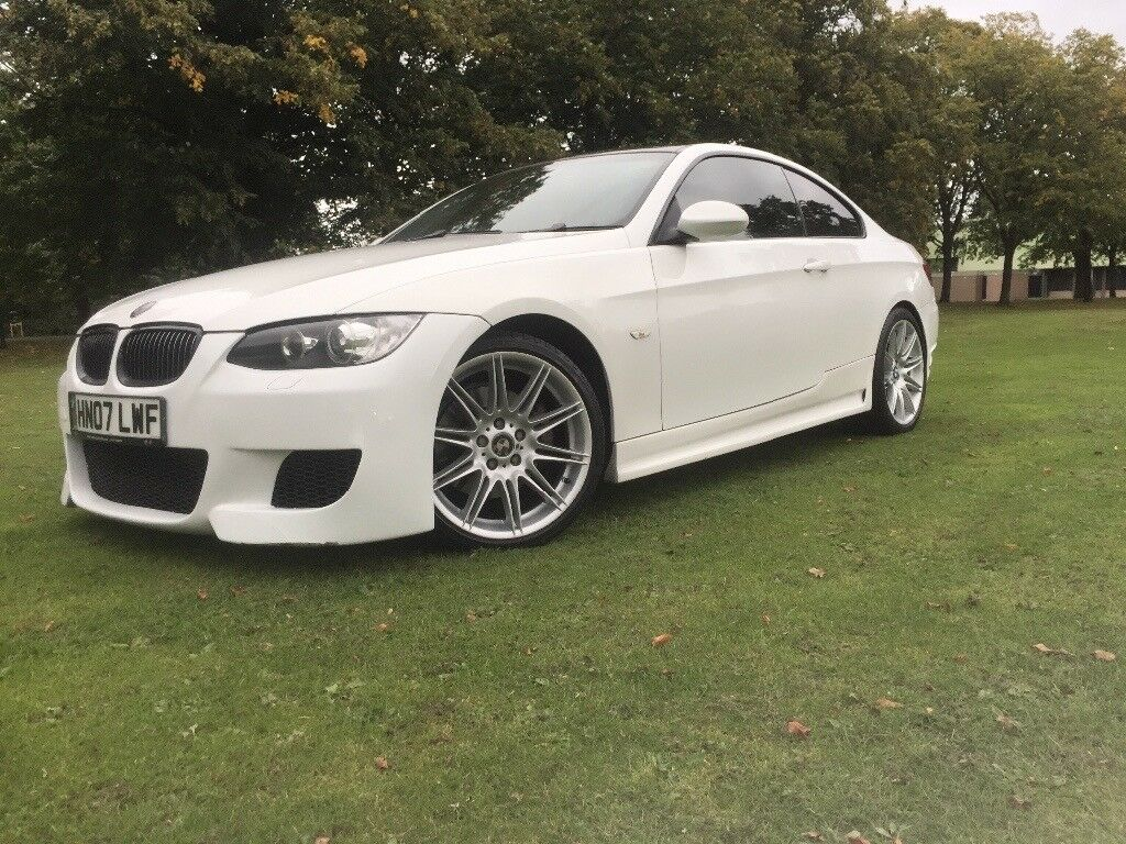 2007 bmw 3 series 325i e92 m3 white autovogue replica. Black Bedroom Furniture Sets. Home Design Ideas
